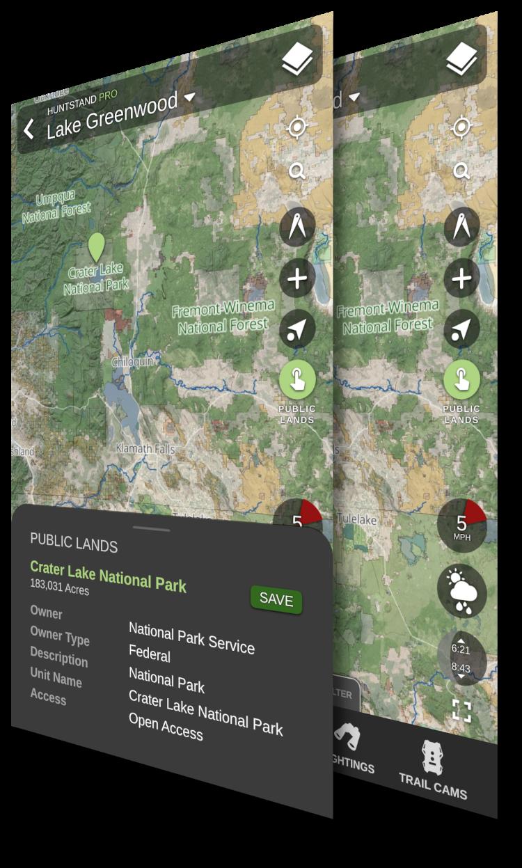 HuntStand App Screenshot